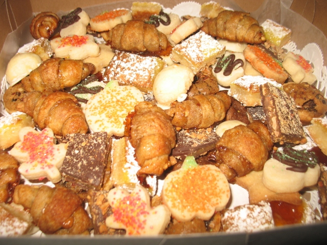 Assorted Thanksgiving Cookies