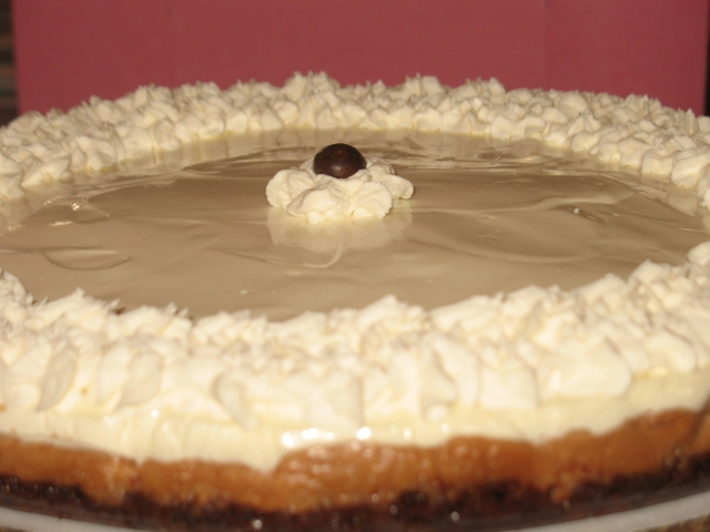 Chocolate Cappuccino Cheesecake Tart